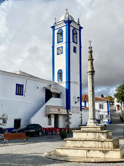 Bell tower on the town square