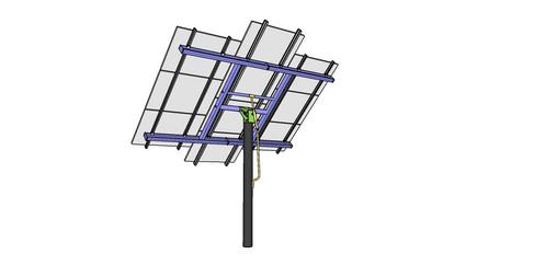 Solar Panel Pole/Tower Mount