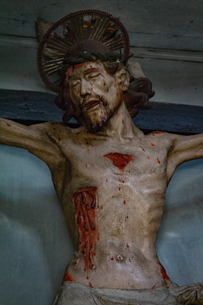 Christ Statue Agnone