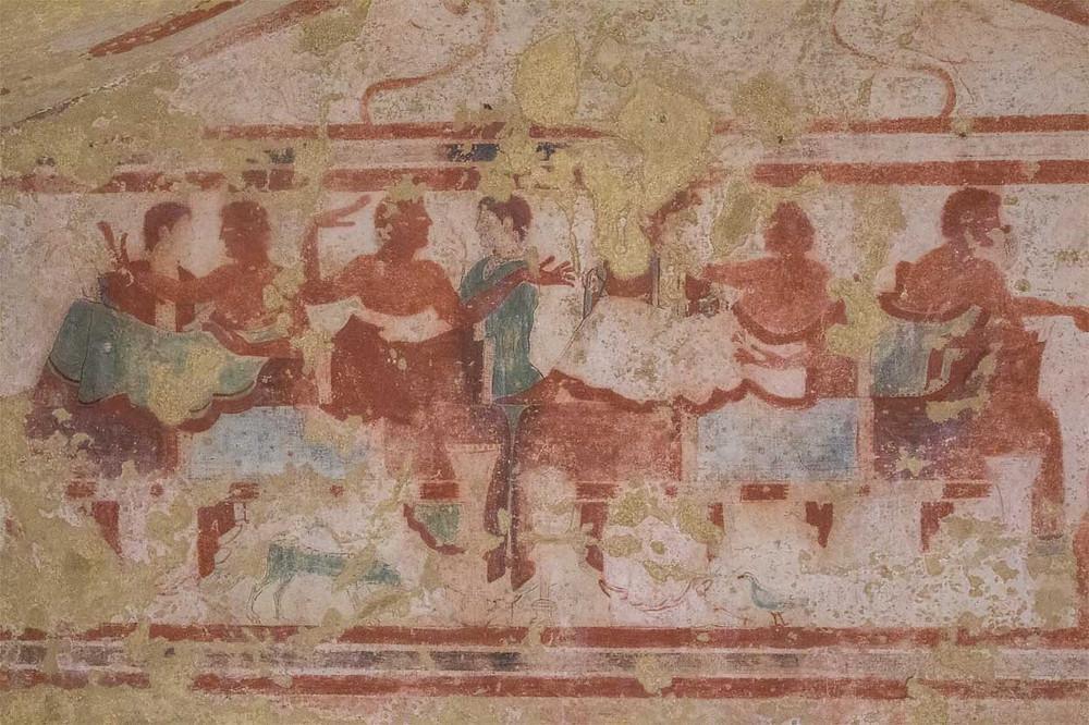 Tomb 5513 Tarquinia Lazio