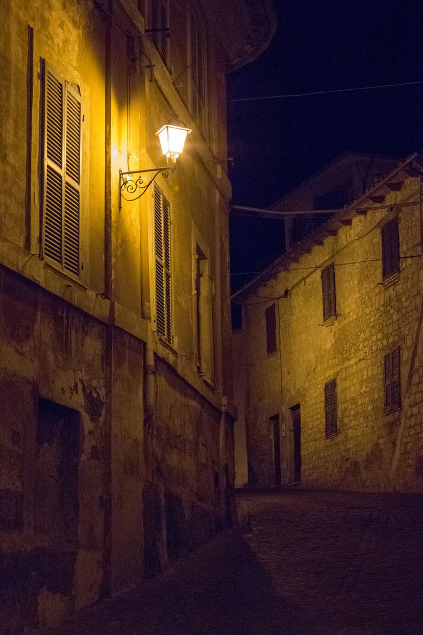 Tarquinia night Lazio