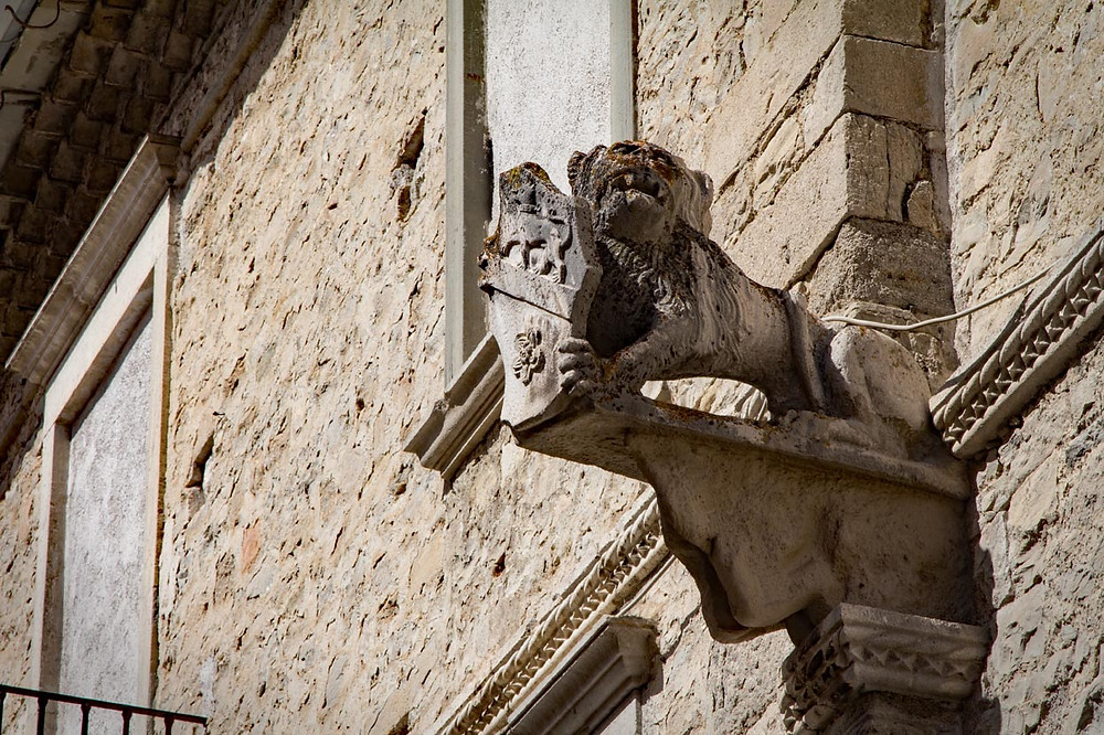 Lion in the Venetian Quarter Agnone