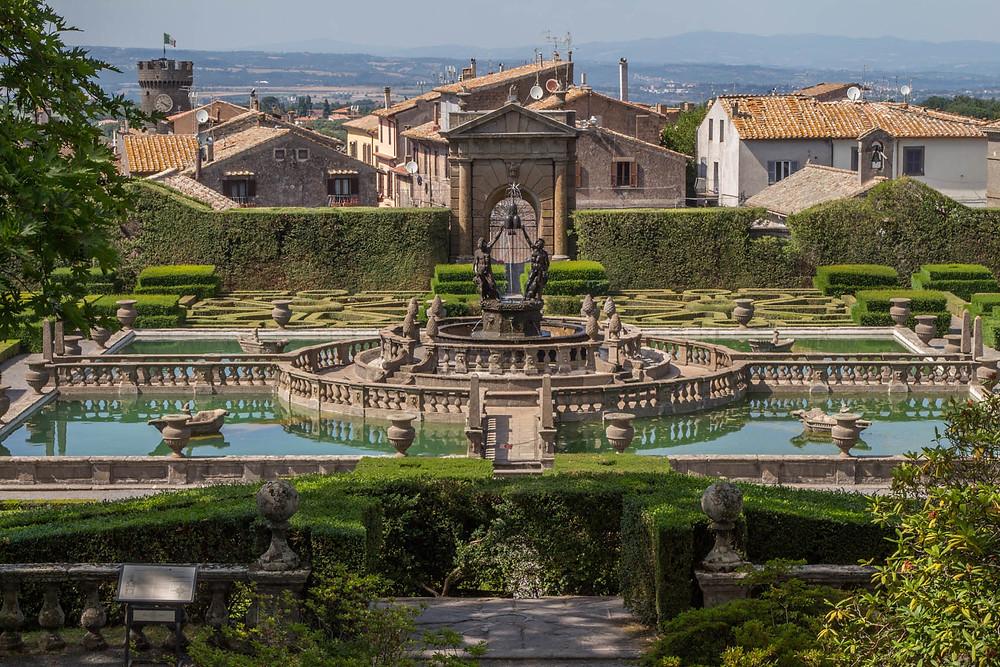 Villa Lante Bagnaia Lazio