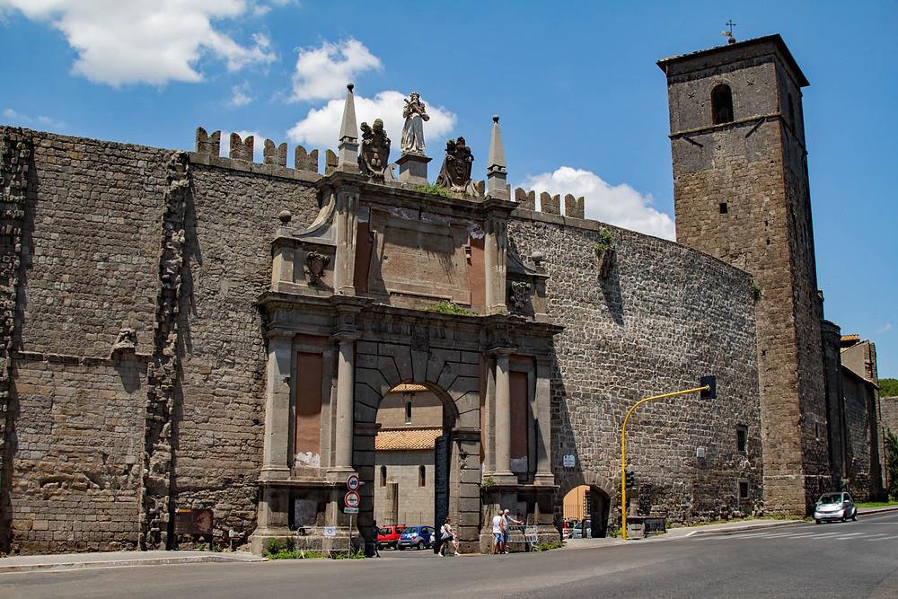Porta Romana Viterbo Lazio