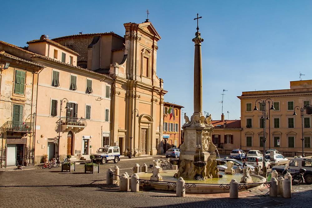 Piazza Trento e Trieste Tarquinia Lazio