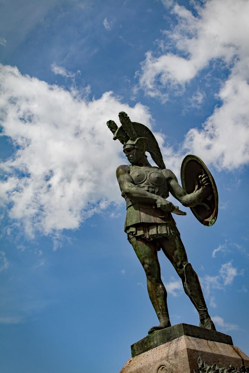 Samnite Statue Pietrabbondante