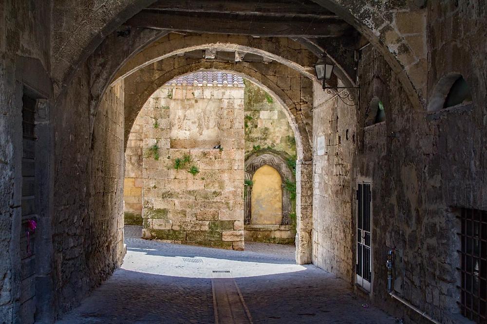 Tarquinia centro storico Lazio