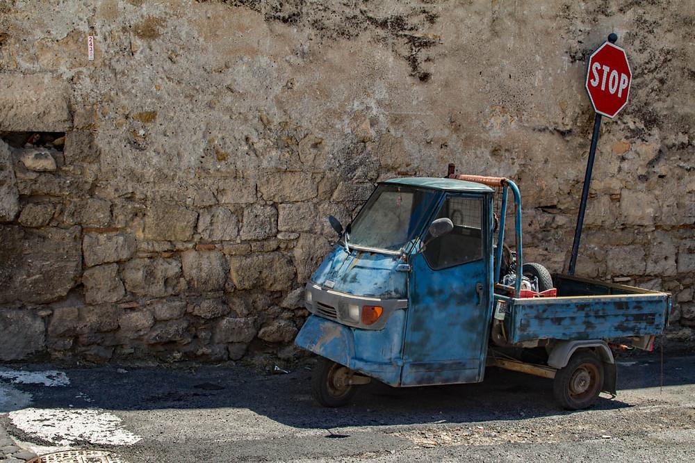 Ape 50 Tarquinia Lazio