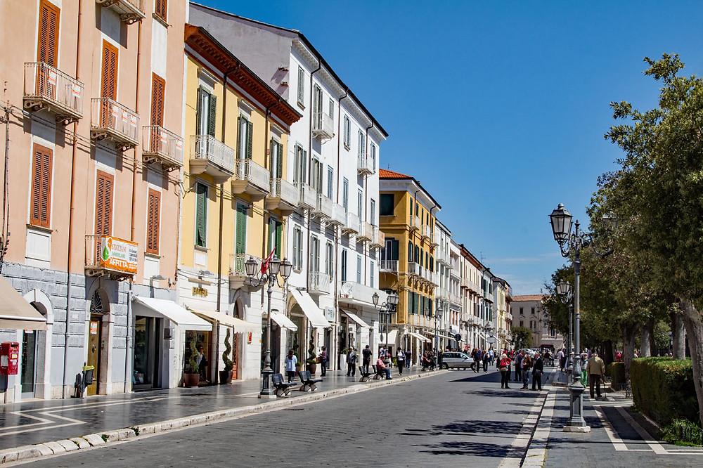 Corso Vittorio Emanuele Campobasso Molise