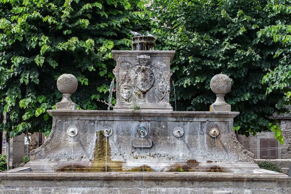 Fountain Bagnaia Lazio
