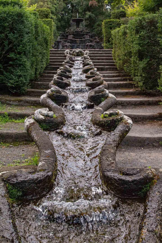 Cascade Villa Lante Bagnaia