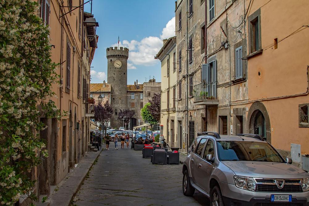 Via Gianbologna Bagnaia Lazio