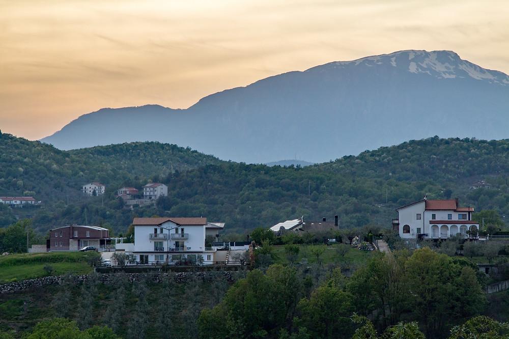 Isernia countryside