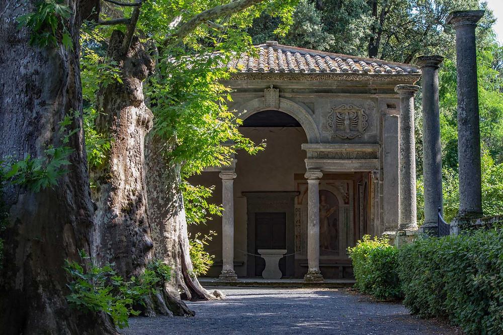 Loggia Villa Lante Bagnaia