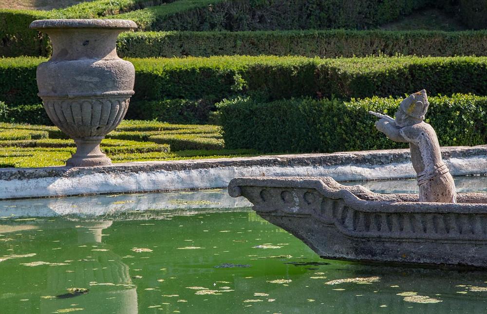 Fontana del Quadrato Villa Lante Lazio