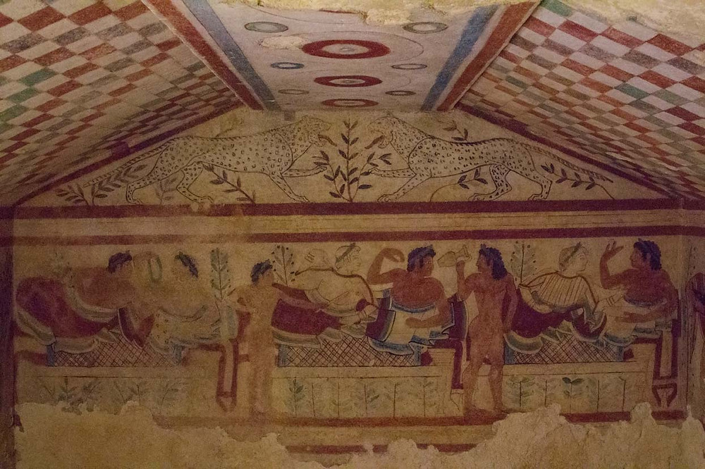 Tomb of the Leopards Tarquinia Lazio