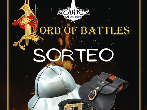 SORTEO LORD OF BATTLES