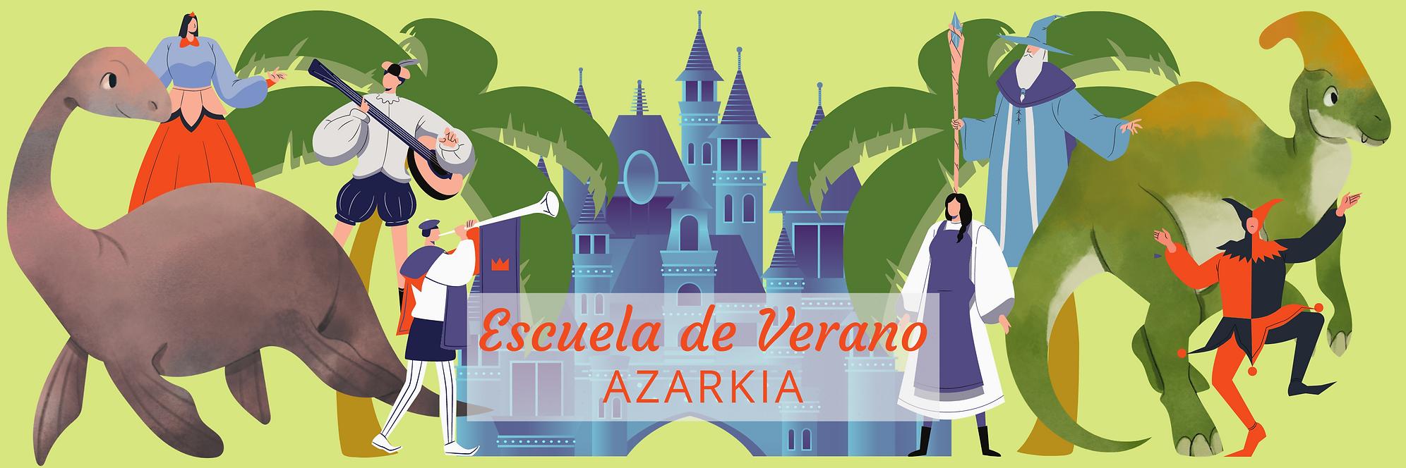 Escuela de verano Azarkia 2021 - Banner.