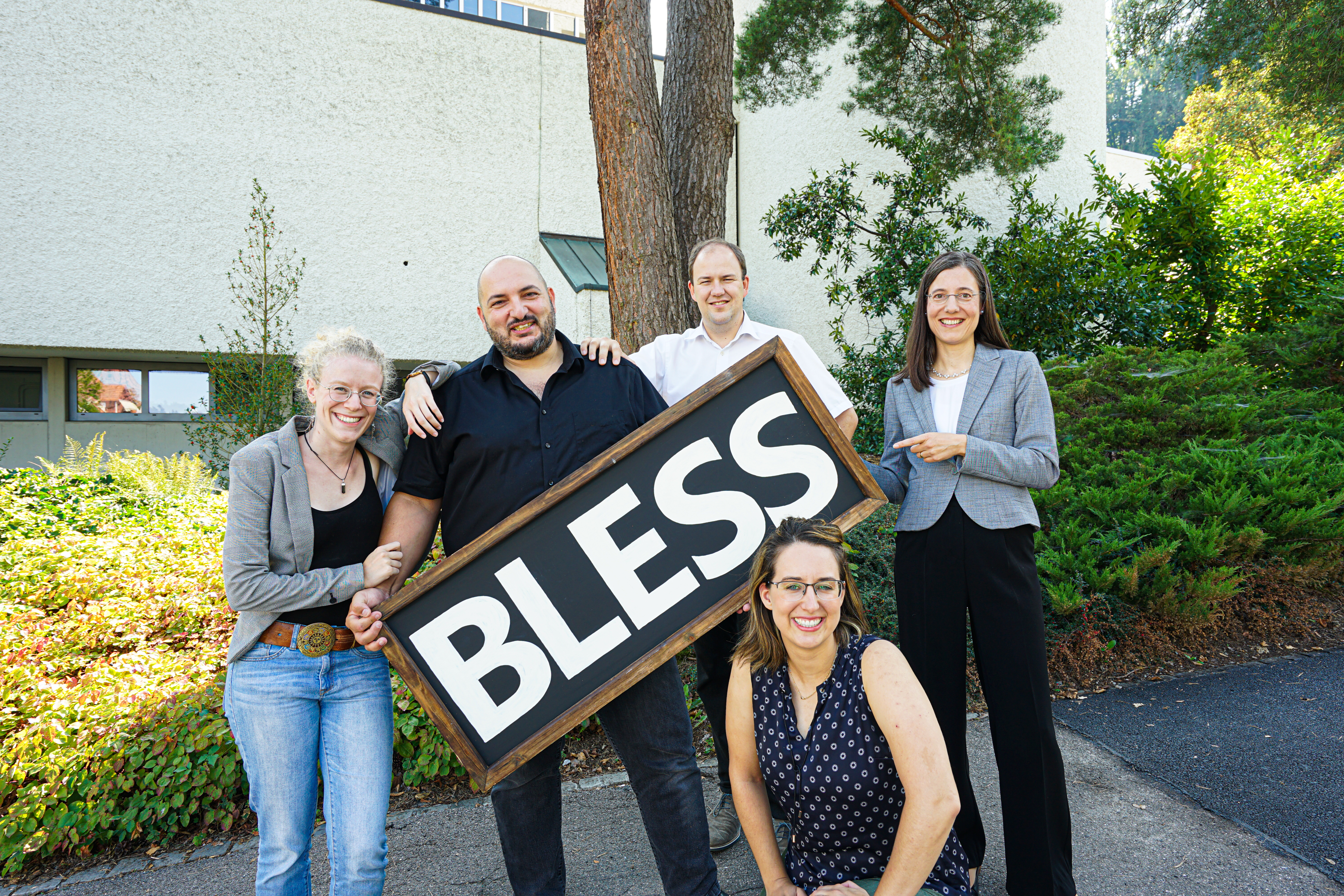 Neues Team bei Bless ab Herbst