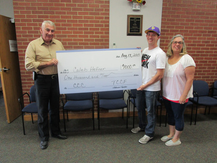 Scholarship given to CCC sophomore student