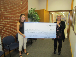 Chuck Dempewolf Community Service Scholarship given