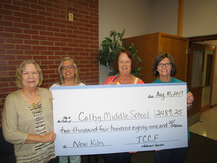 Colby Middle School gets grant