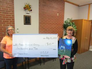 Pioneer Memorial Library gets grant