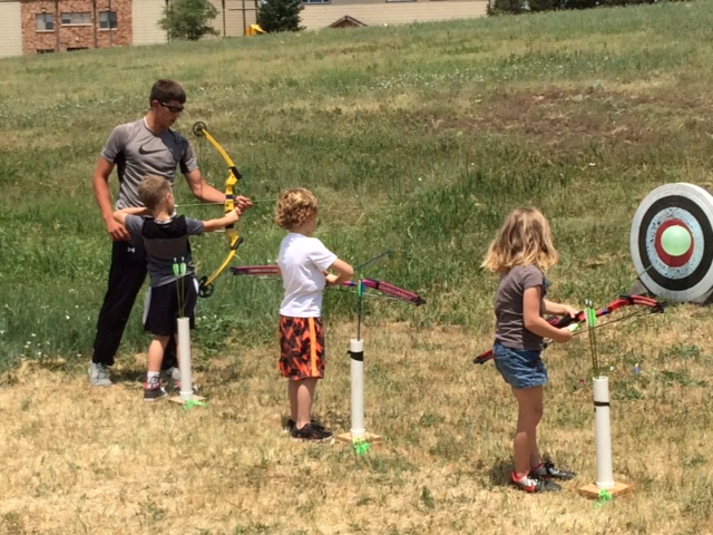 Colby Methodist Church Archerers