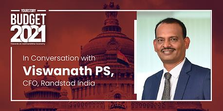 Post Budget Conversation with Viswanath PS of Randstad