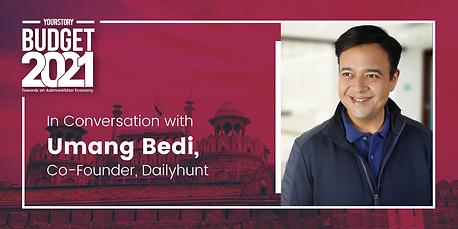 Post Budget Conversations with Umang Bedi - Part II