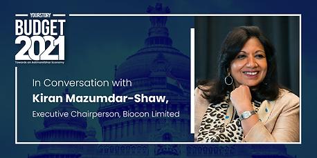 Post Budget Conversation with Kiran Mazumdar-Shaw of Biocon