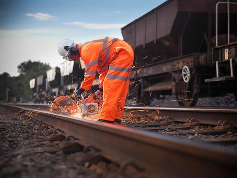 Bahnarbeiter