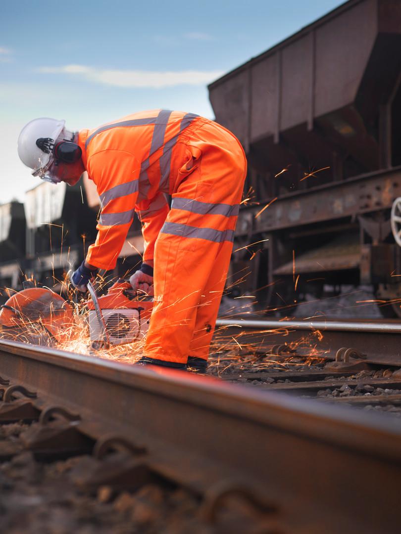 Trabajador ferroviario