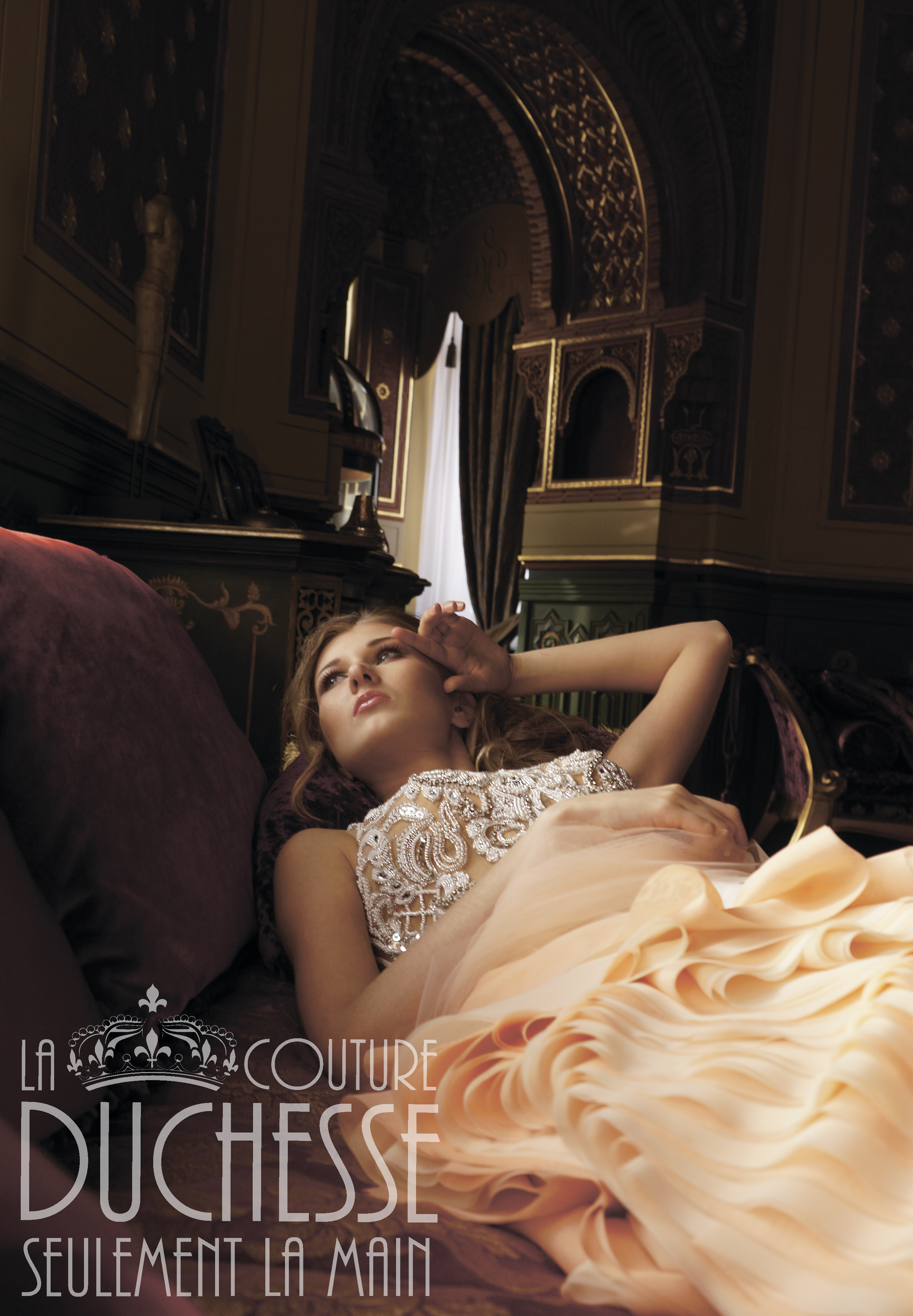 Свадебное платье LA DUCHESSE couture