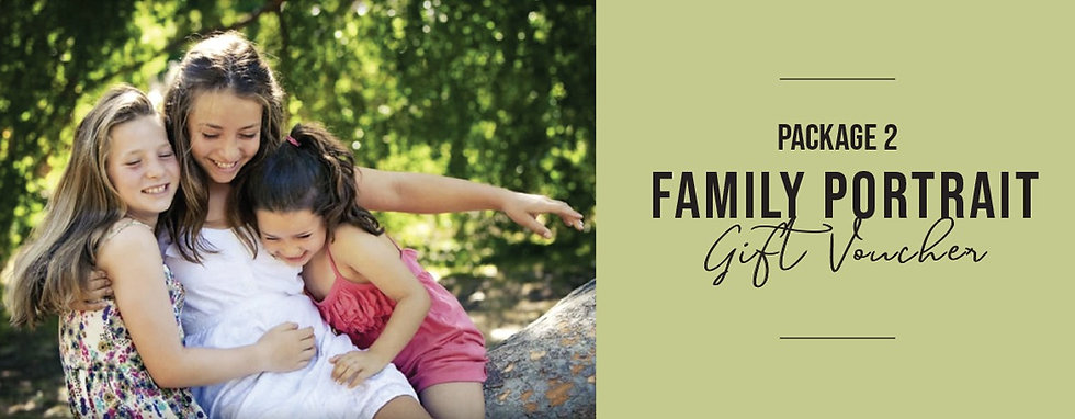 FAMILY PORTRAIT PACKAGE 2