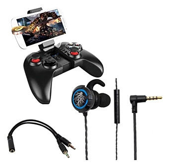 Kit Gamer Headset 7.1 Hd E Controle Joys