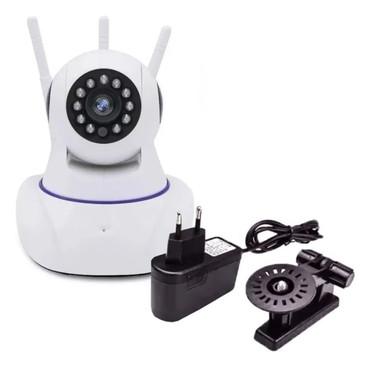 Câmera Segurança Ip 3 Antenas Wireless