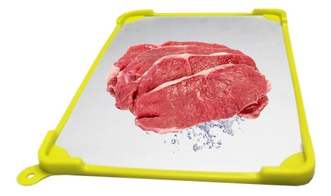 Placa Para Descongelar Alimentos Mais Rápido