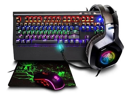 Kit Gamer Teclado Mouse 10 Botões 3200dpi