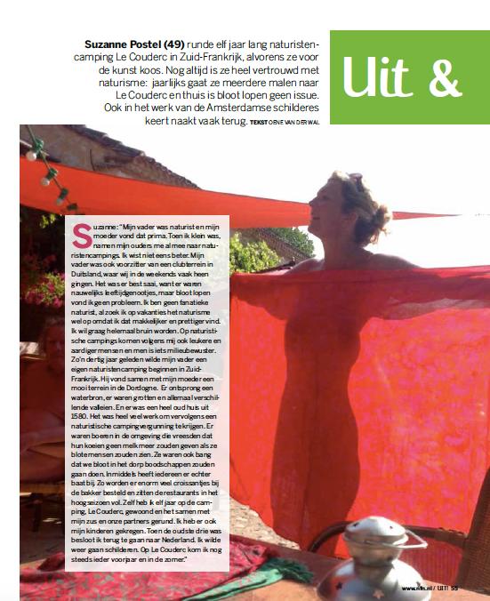 Interview rubriek Uit&Thuis