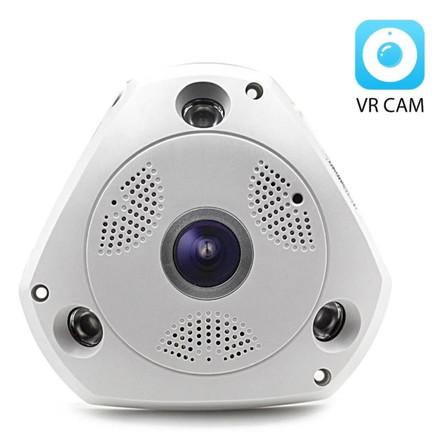 Camera Ip Wifi Panorâmica 3d De Teto 360ª