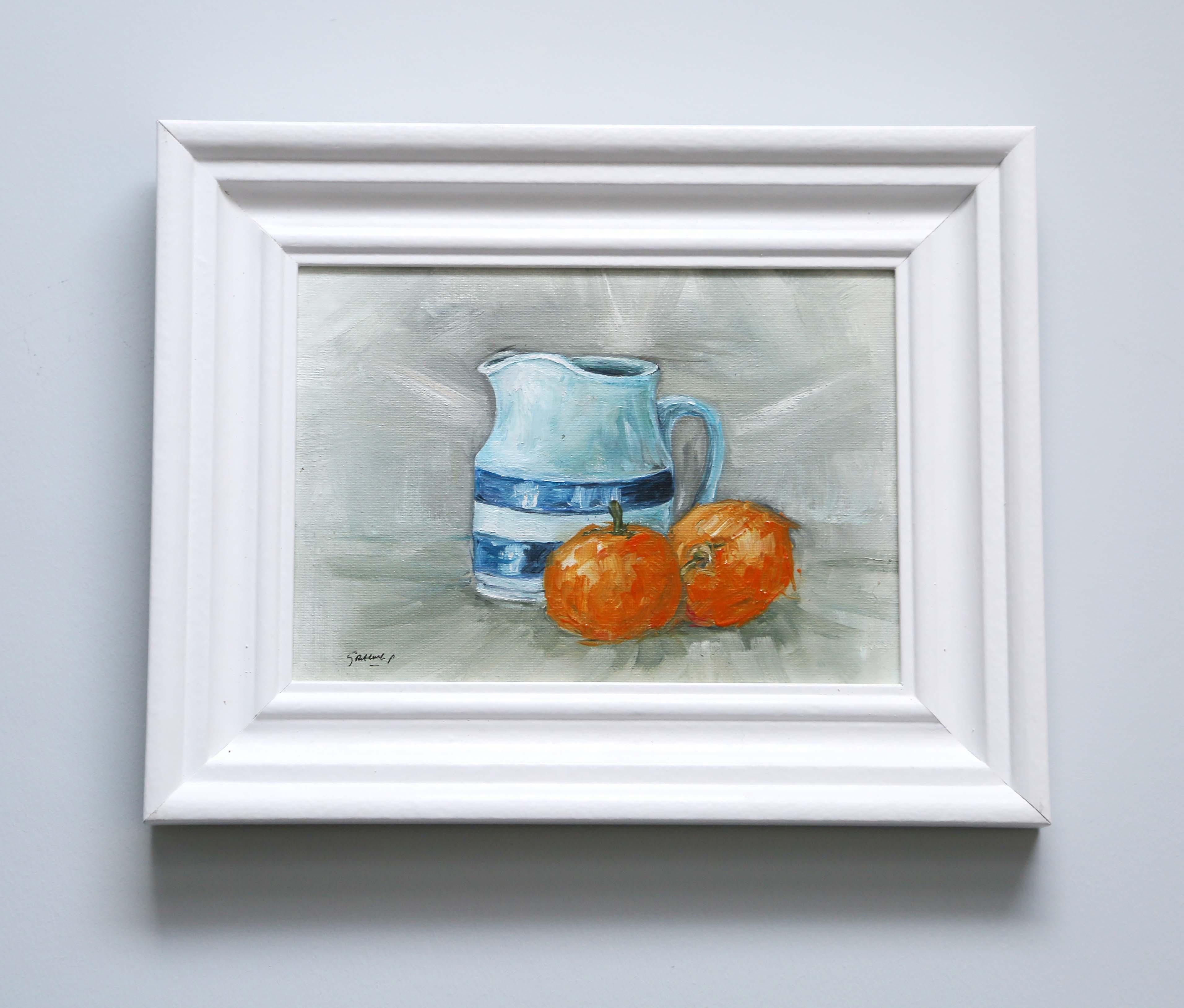 Orange jug surrey oil painting
