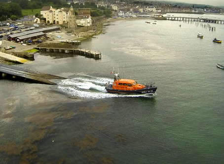 RNLI Launches in Swanage