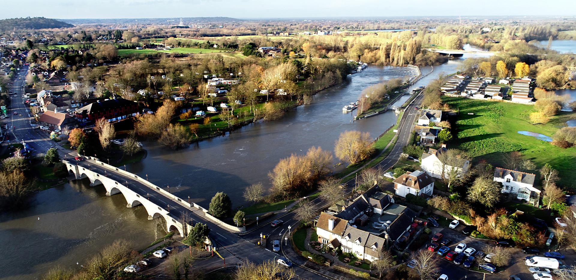 Chertsey bridge aerial photography.jpg