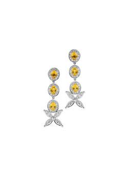 4_Yellow Sapphire Drop Earrings