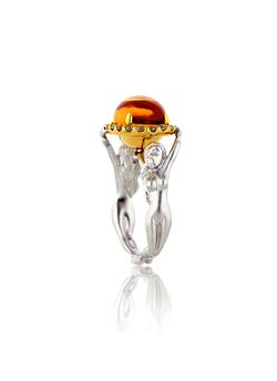Twin Ladies Diamond Ring
