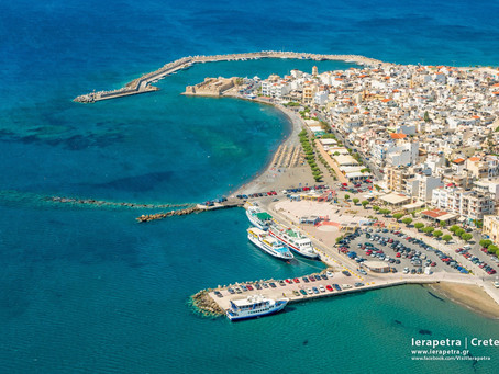 Ierapetra: Bright, hospitable. The old town, the port, the castle, the beaches !