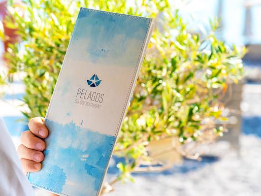 Στο Pelagos Seaside Restaurant το βραβείο Ελληνικής Κουζίνας !