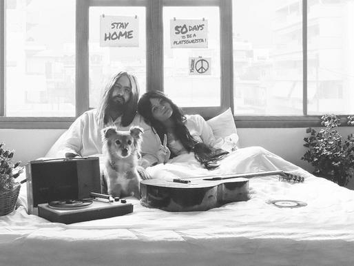 Το Καλοκαίρι Στο Νότο μένει σπίτι και «παθαίνει» John Lennon και Yoko Ono !