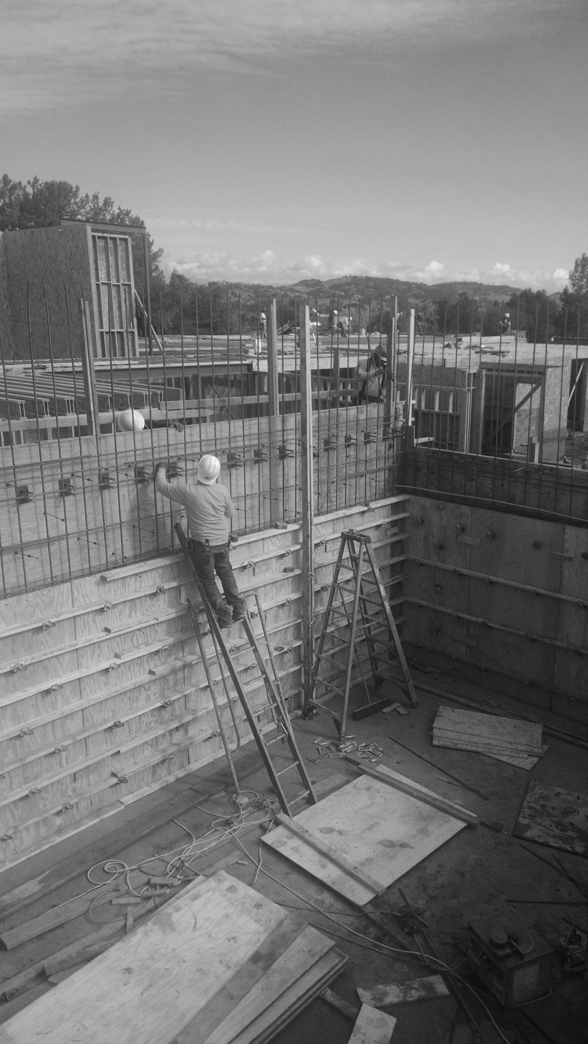 Almaden Country Club - Retaining Walls bnw